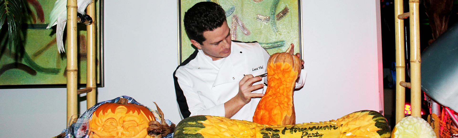 Corsi professionali di intaglio frutta e verdura con tecnica thailandese