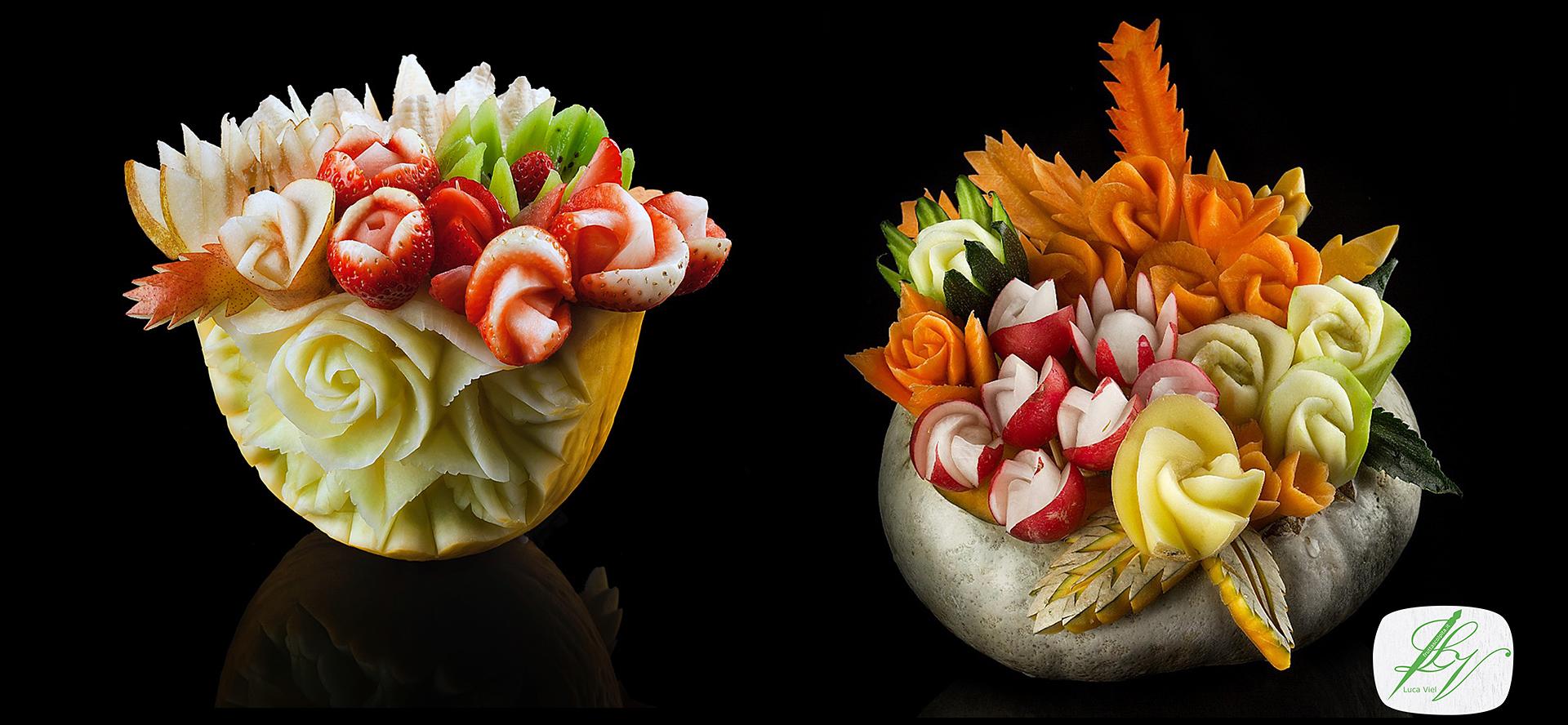 Corso base di intaglio frutta e verdura